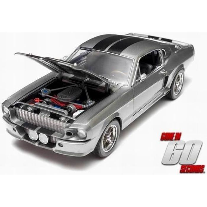 FORD MUSTANG Shelby GT500 Eleanor 1967 60 Secondes Chrono 1/18