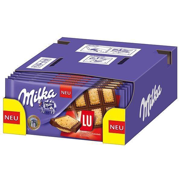 Milka & LU Biscuit Chocolat 16 x 87g