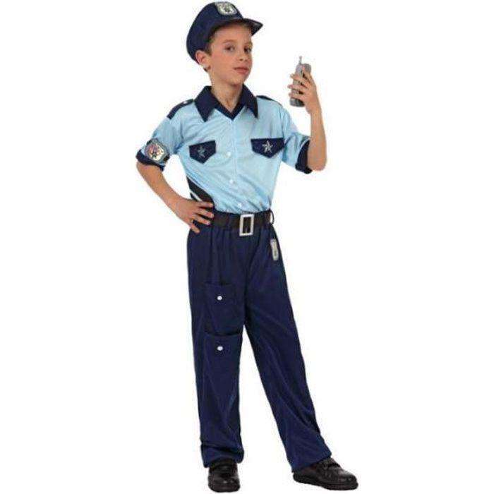 Déguisement de policier garçon