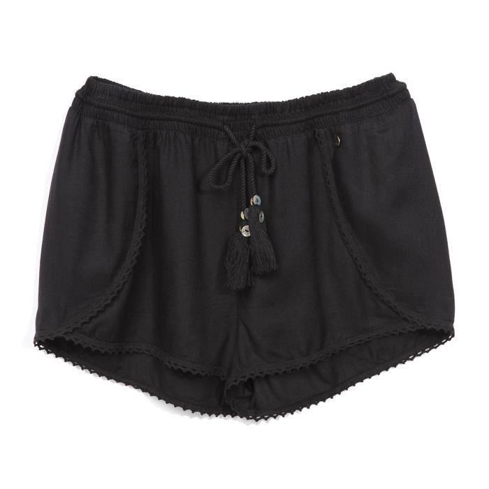 DEELUXE - Short Fluide Noir - Enfant Fille
