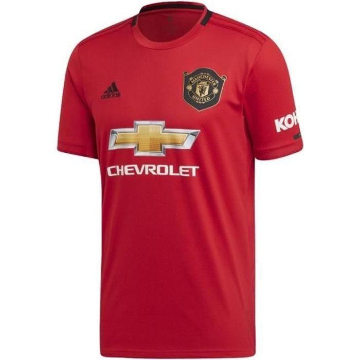 Maillot Manchester United Football Domicile Enfant 2019/2020 Adidas Rouge