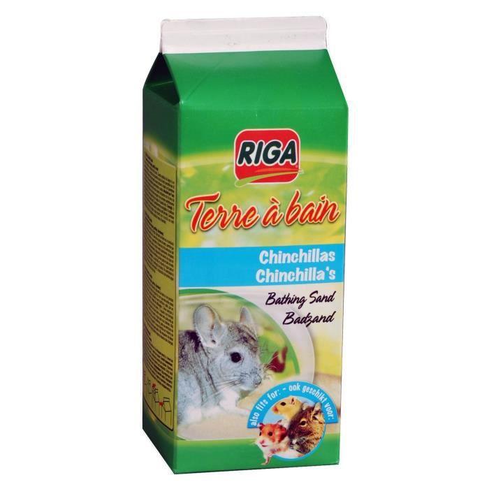 RIGA Terre à bain bain pour chinchilla - 1,3 kg