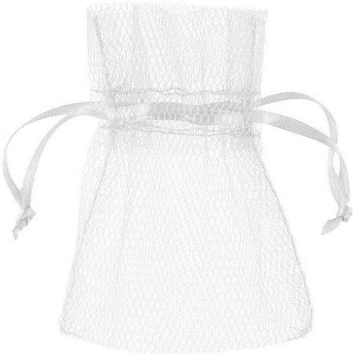Contenant sachet tulle blanc (x10) REF/5095