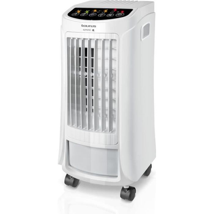 TAURUS R750 Rafraîchisseur d'air - 65 watts - 3 vitesses - Réservoir 4 litres - Blanc