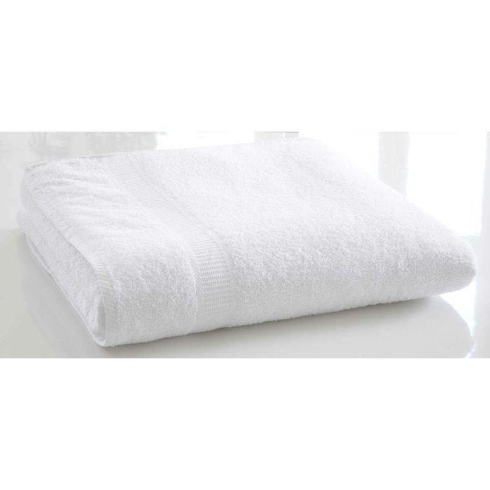 TODAY Drap de bain Chantilly 100% Coton - 70 x 130 cm