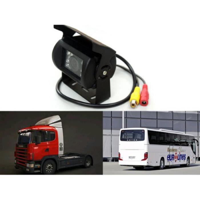 Caméra de recul arrière DC 12-24V HD pour caravane de bus de camion de voiture (noir) DE RECUL - CAMERA DE RECUL