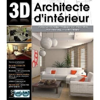 architecte d 39 interieur 3d pc prix pas cher cdiscount. Black Bedroom Furniture Sets. Home Design Ideas