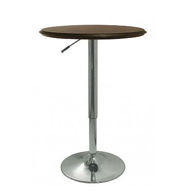 Table de bar haute design marron achat vente table de for Achat table bar