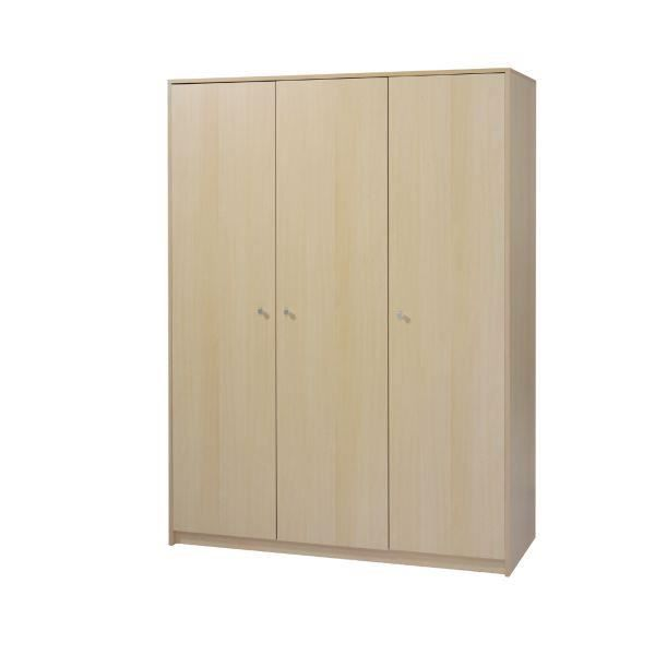 armoire enfant classique naturel 3 portes achat vente. Black Bedroom Furniture Sets. Home Design Ideas