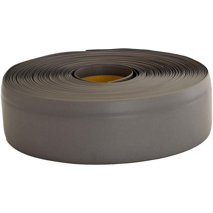 Plinthe Souple Pvc Gris Fonce 50 Mm Adhesive Pliable Achat Vente Sols Pvc Plinthe Souple Pvc Gris Cdiscount