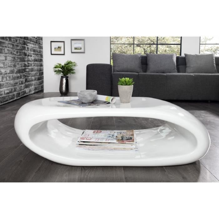 Table basse design Spacy blanc - Achat   Vente table basse Table ... 16cecabe64fb