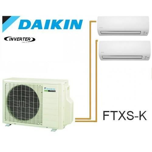 daikin bisplit 3mxs68g 1 ftxs50k 1 ftxs20k achat vente climatiseur daikin bisplit. Black Bedroom Furniture Sets. Home Design Ideas