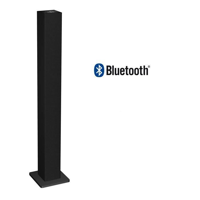 dynabass dbt30 enceinte bluetooth tour noir achat vente enceinte nomade dynabass dbt30. Black Bedroom Furniture Sets. Home Design Ideas
