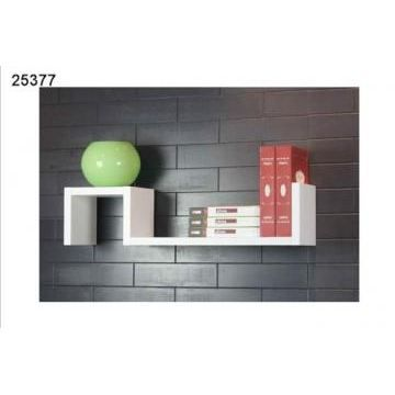 etag re murale blanche 2 niveaux achat vente etag re. Black Bedroom Furniture Sets. Home Design Ideas
