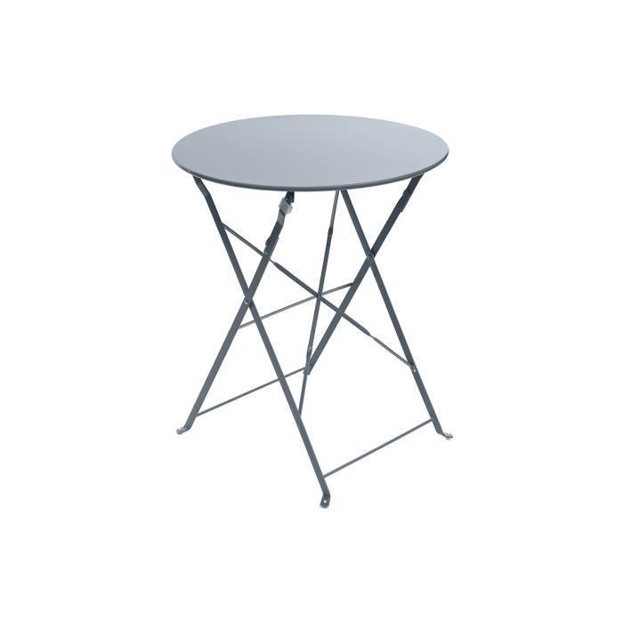 cdiscount table de jardin ronde