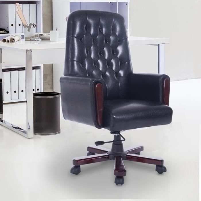 Luxe Design Fauteuil.Luxe Chaise Bureau Fauteuil Hauteur 72cm Reglable Pivotant