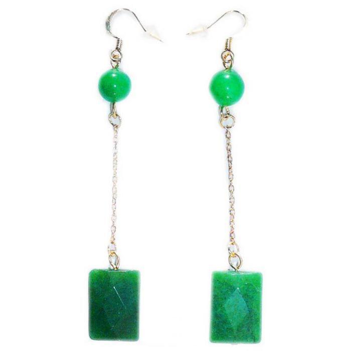 jade boucle d'oreille
