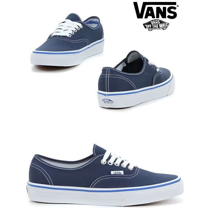 vans authentic bleu marine