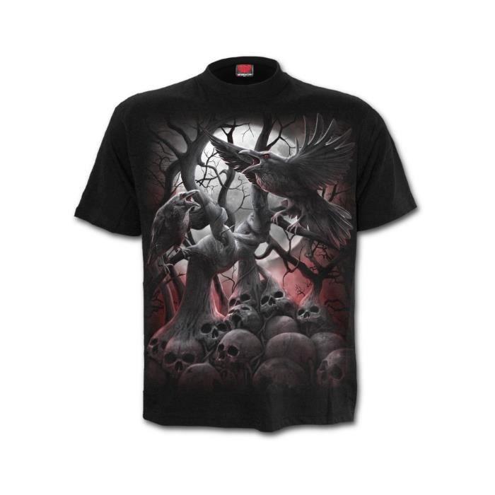 t shirt gothique homme pas cher