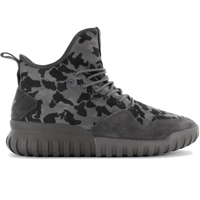 adidas Originals Tubular X UNCGD BB8403 Chaussures Homme Sneaker Baskets Gris Camouflage