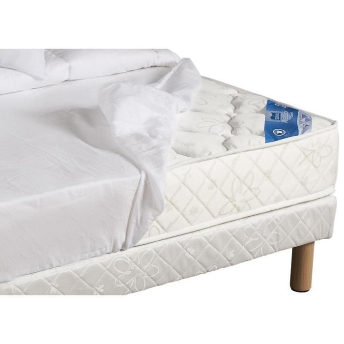 Prot ge matelas molleton impermeable 2x80x200 achat vente prot ge matelas cdiscount - Protege matelas 180x200 impermeable ...