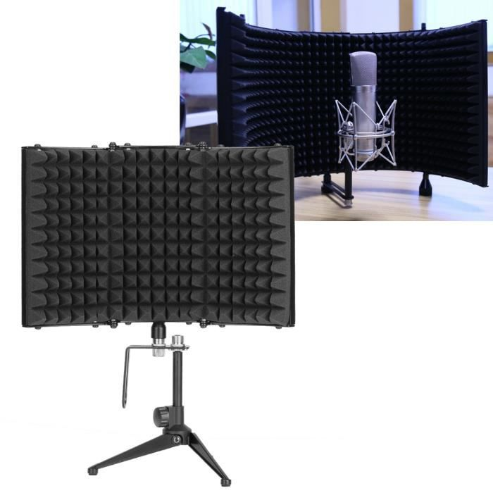 cran acoustique de microphone amortisseur de son studio micro avec tr pied microphone. Black Bedroom Furniture Sets. Home Design Ideas