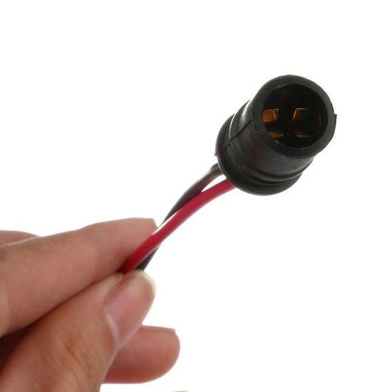 Ampoule DEL industriel BDC 240 V CW Inspection DEL Lampe Caoutchouc 100 W Câble 5MTR