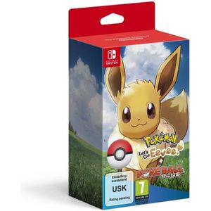 JEU NINTENDO SWITCH Pokémon : Let's Go, Evoli ! + Pokéball Plus sur Ni