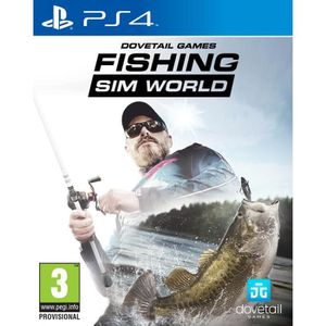 JEU PS4 Fishing Sim World Jeu PS4