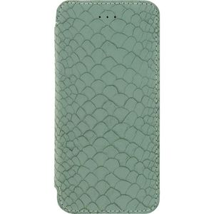 MOBILIZE Slim Gelly Booklet Etui de protection pour telephone Apple iPhone 6 / 6s Vert