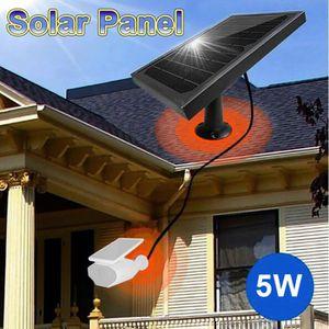 CAMÉRA DE SURVEILLANCE C5 5W Panneau solaire 5V Contrôleur de charge Kit