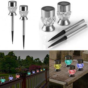 BANDE - RUBAN LED LED luminaires solaires de jardin diamant solaire