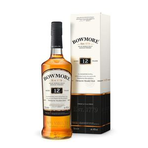 WHISKY BOURBON SCOTCH Whisky Bowmore 12 ans