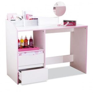 bureau fille grenadine achat vente bureau b b enfant cdiscount. Black Bedroom Furniture Sets. Home Design Ideas