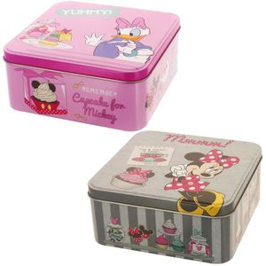 BOITE DE RANGEMENT Lot De 2 Boites De Rangement Disney Minnie Daisy D
