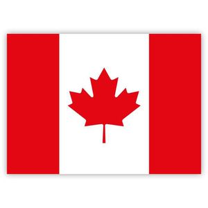 10 x  Autocollant Sticker drapeau Canada Canadien  flag vinyle voiture moto