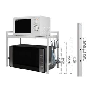 SUPPORT DE MICRO-ONDES Shelf Support télescopique Multifonction-Cuisine-é