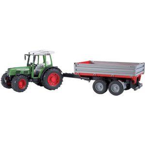 TRACTEUR - CHANTIER Bruder 02104 - Tracteur Fendt Farmer 209 S Vert Av