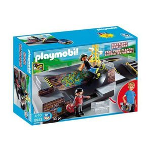 FINGER SKATE - BIKE  Playmobil Parc pour Skateboards