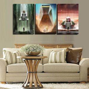 TABLEAU - TOILE Home Décor Peinture à l'huile HD Imprimer Tableau