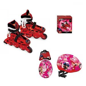 ROLLER IN LINE  rollers on line Miraculous avec casque protection