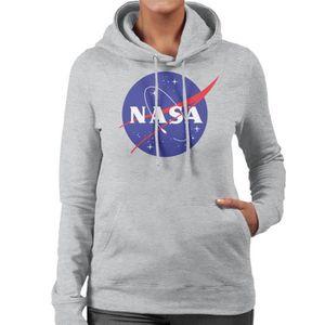 SWEATSHIRT The NASA Classic Insignia Sweat à Capuche Femme