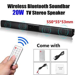 HAUT-PARLEUR - MICRO Bluetooth Sans Fil Haut-Parleur SoundBar Subwoofer