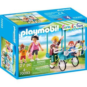 UNIVERS MINIATURE PLAYMOBIL 70093 - Family Fun Le Camping - Famille