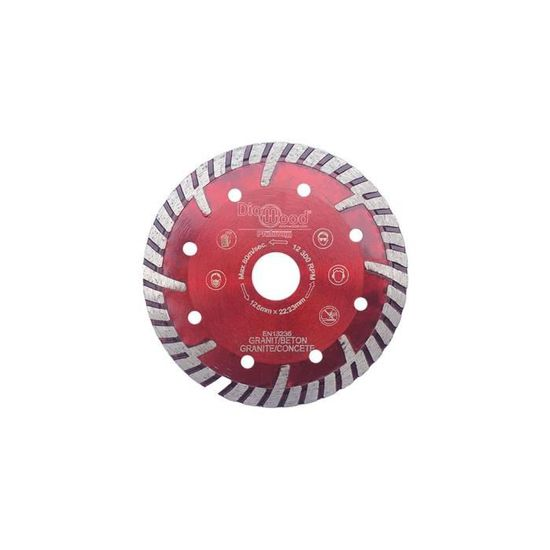 Diamwood 115 x Al Diamwood b/éton 22,23 x Ht mat/ériaux de construction 7 x /ép 4 mm Disque diamant /à d/éjointoyer D