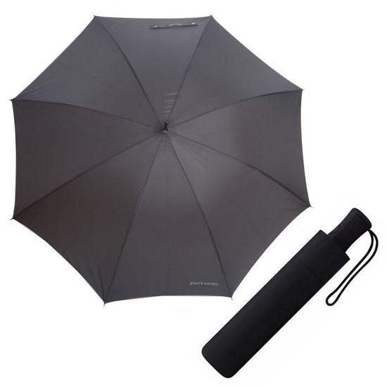 noir - 80768 Pierre Cardin Parapluie pliant noir