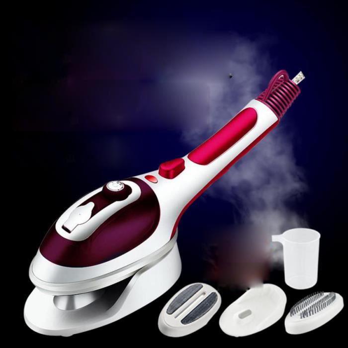 Fer à vapeur à vapeur électrique portable avec régulateur de vapeur à 3 vitesses