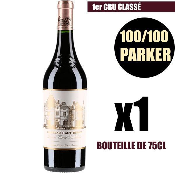 X1 Château Haut-Brion 2015 75 cl AOC Pessac-Léognan Rouge 1er Cru Classé Vin Rouge
