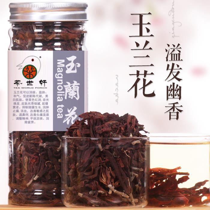 Minceur de thé Magnolia blanchiment de thé de fleurs réduisent la pression sanguine 40g soins de la peau de santé chinois Anti Aging