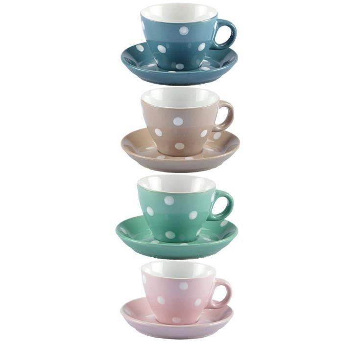 DRULINE DOTS vaisselle vaisselle planche bol de céréale QP-FVM9-4W57